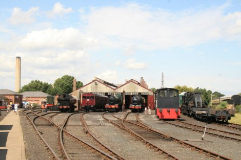 Das Didcot Railway Centre in Oxfordshire.   © Copyright Richard Croft and licensed for reuse under this Creative Commons Licence.