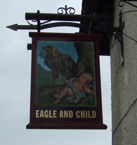The Eagle and Child in Rainford.     © Copyright JThomas and   licensed for reuse under this Creative Commons Licence.