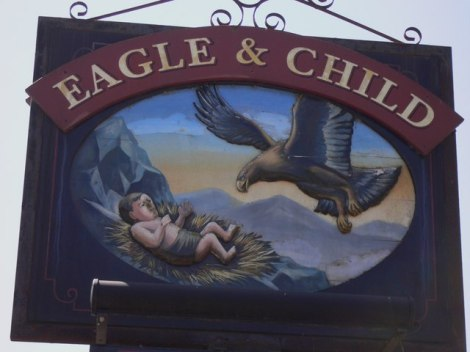 The Eagle and Child in Weeton, östlich von Blackpool.    © Copyright Shazz and   licensed for reuse under this Creative Commons Licence.