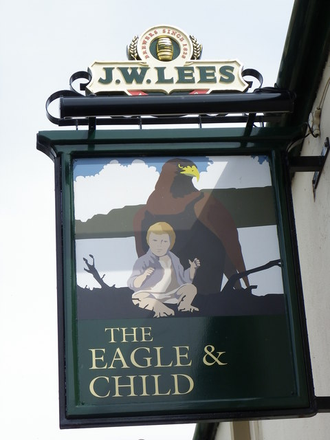 The Eagle and Child in Hurst Green.   © Copyright Tom Howard and   licensed for reuse under this Creative Commons Licence.