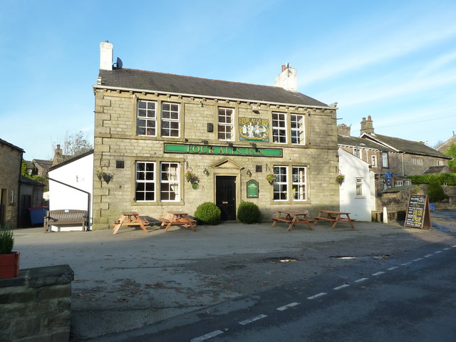 The Four Alls Inn in Higham.  © Copyright Alexander P Kapp and licensed for reuse under this Creative Commons Licence.