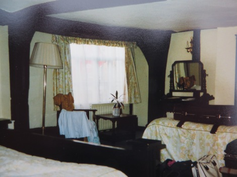 Unser Zimmer im Royal Hop Pole. Eigenes Foto.