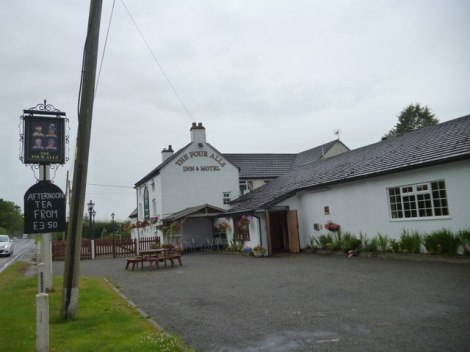 The Four Alls Inn bei Woodseaves.   © Copyright Alexander P Kapp and licensed for reuse under this Creative Commons Licence.