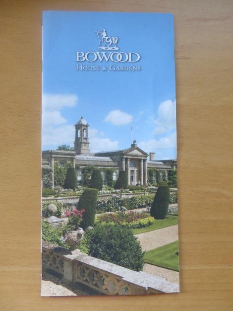 Meine Bowood-Broschüre.