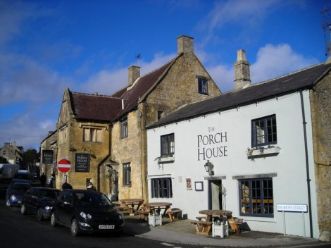 New Pub of the Year 2016: The Porch House in Stow-on-the-Wold (Gloucestershire).   © Copyright Mark Percy and licensed for reuse under this Creative Commons Licence.