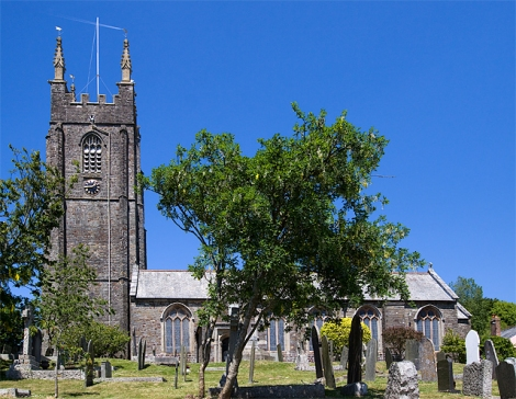 St Andrew's Church in Stratton.   © Copyright Mike Searle and licensed for reuse under this Creative Commons Licence.