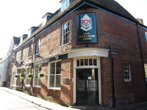 Town Pub of the Year 2016: The Wykeham Arms in Winchester (Hampshire).   © Copyright Mike Quinn and licensed for reuse under this Creative Commons Licence.