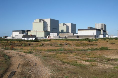 Dungeness Power Station.   © Copyright Oast House Archive and licensed for reuse under this Creative Commons Licence.
