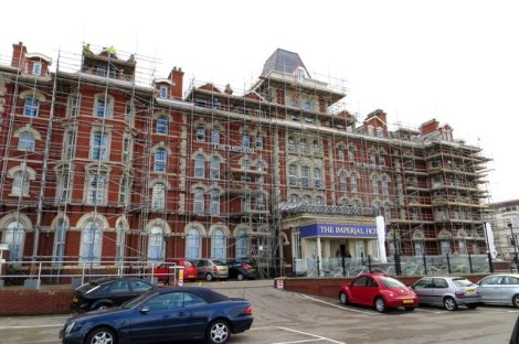 Das Imperial Hotel in Blackpool, in dem die George Formby Society gegründet wurde.   © Copyright Steve Daniels and licensed for reuse under this Creative Commons Licence.