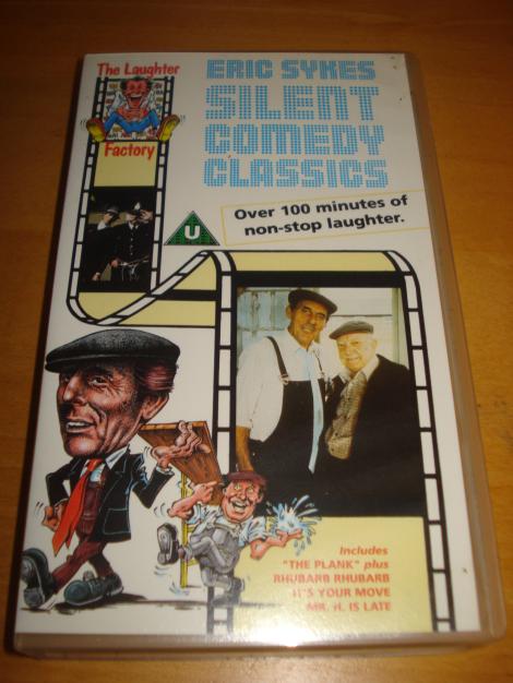 Foto meiner Videocassette.