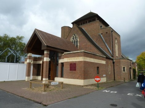 Church of St Teresa in der Warwick Road.   © Copyright Basher Eyre and licensed for reuse under this Creative Commons Licence.