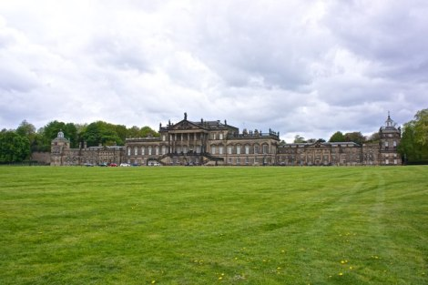 "Wentworth Woodhouse in South Yorkshire, das frühere ""Zuhause"" von Whistlejacket.   © Copyright Paul Buckingham and licensed for reuse under this Creative Commons Licence."
