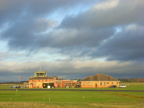 RAF Benson.   © Copyright Andrew Smith and licensed for reuse under this Creative Commons Licence.