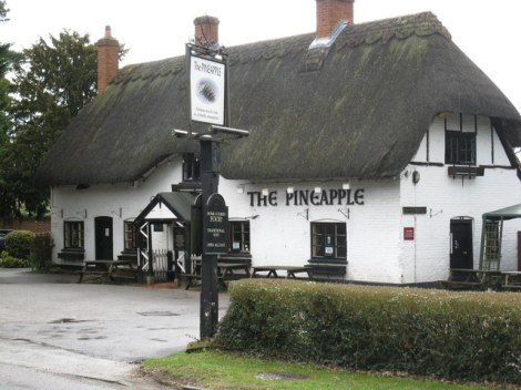 The Pineapple in Brimpton Common.   © Copyright don cload and licensed for reuse under this Creative Commons Licence.