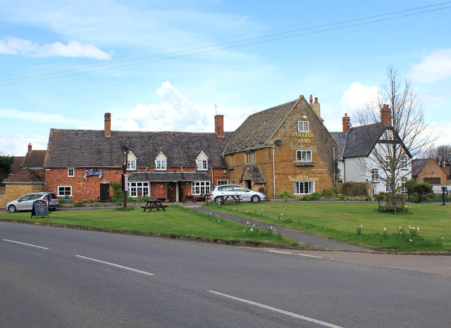The College Arms.  © Copyright David P Howard and licensed for reuse under this Creative Commons Licence.