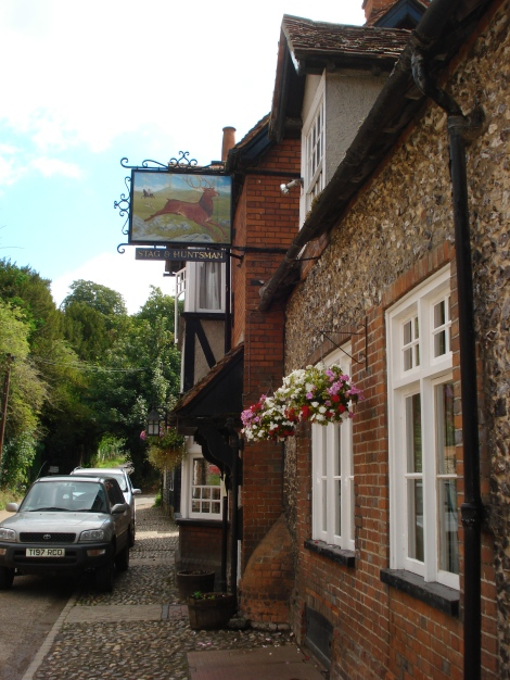 The Stag & Huntsman in Hambleden. Eigenes Foto.