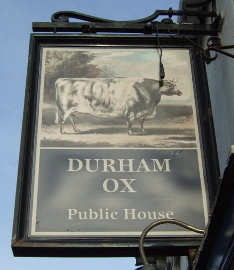 The Durham Ox in Beverley (East Yorkshire).    © Copyright JThomas and   licensed for reuse under this Creative Commons Licence.
