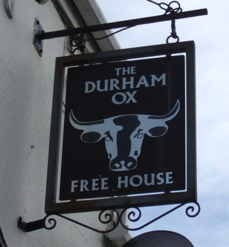 The Durham Ox in Coundon.     © Copyright JThomas and   licensed for reuse under this Creative Commons Licence.