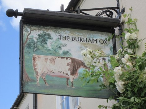 The Durham Ox in Crayke (North Yorkshire).    © Copyright Ian S and   licensed for reuse under this Creative Commons Licence.