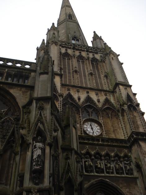St Mary Redcliffe in Bristol. Eigenes Foto.