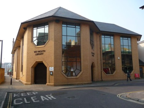 Weymouth Public Library.   © Copyright Chris Talbot and licensed for reuse under this Creative Commons Licence.