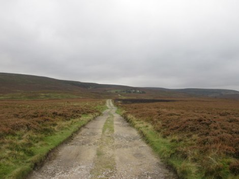 Die Moorlandschaft bei Haworth.   © Copyright John Slater and licensed for reuse under this Creative Commons Licence.