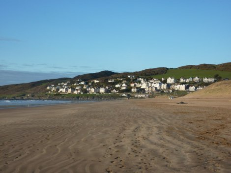 Platz 1: Der Strand von Woolacombe.   © Copyright Tom Jolliffe and licensed for reuse under this Creative Commons Licence.
