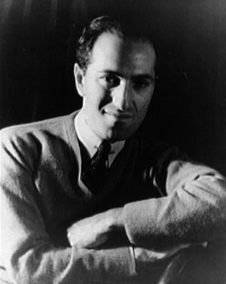 George Gershwin, der den Song komponierte. Photographer: Carl Van Vechten. This image is in the public Domain.