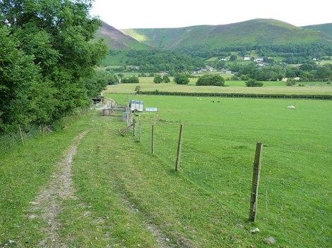 Die Umgebung von Hogstow in Shropshire. Irgendwo hier muss der Mord stattgefunden haben.  © Copyright Richard Law and licensed for reuse under this Creative Commons Licence.