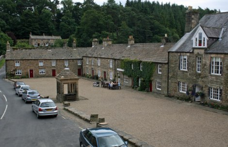 The Square in Blanchland.   © Copyright Jo Turner and licensed for reuse under this Creative Commons Licence.
