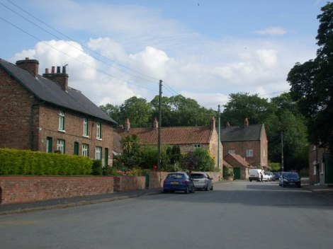 Die Church Street in West Haslerton.   © Copyright JThomas and licensed for reuse under this Creative Commons Licence.