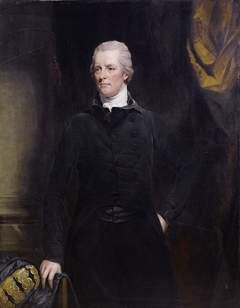 Platz 2 der Charts: William Pitt the Younger. This work is in the public Domain.