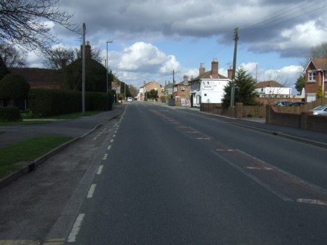 Die Main Road in Stickney.   © Copyright JThomas and licensed for reuse under this Creative Commons Licence.