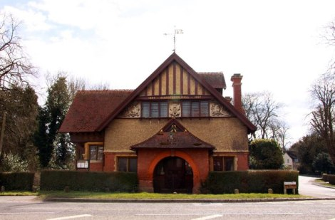 Waddesdon Village Hall.    © Copyright Steve Daniels and licensed for reuse under this Creative Commons Licence.