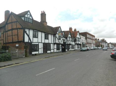 Amersham Old Town, wo Dr. Davidson praktizierte. Eigenes Foto.