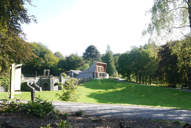 Das Grizedale Visitor Centre.   © Copyright Nigel Mykura and licensed for reuse under this Creative Commons Licence.