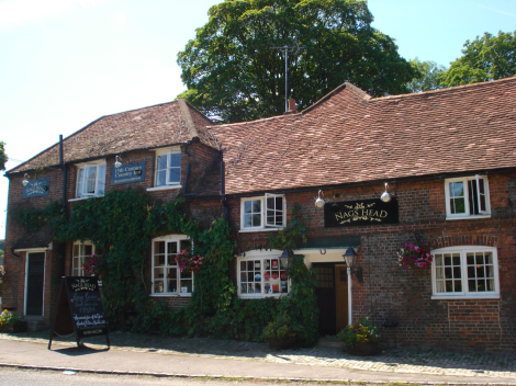 The Nags Head in Great Missenden (Buckinghamshire). Eigenes Foto
