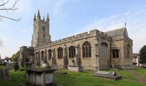 St Mary's in Prittlewell.   © Copyright John Salmon and licensed for reuse under this Creative Commons Licence.