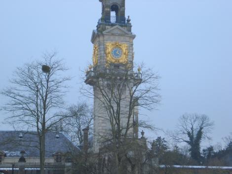 Der Clocktower, neben dem der Astoria Grill untergebracht ist. Eigenes Foto.
