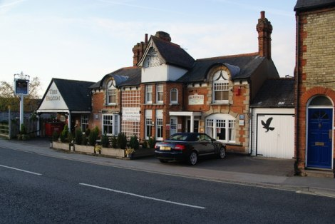 The Falcon in Thame (Oxfordshire).   © Copyright Bill Boaden and licensed for reuse under this Creative Commons Licence.