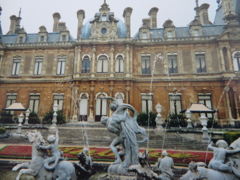 Waddesdon Manor in Buckinghamshire. Eigenes Foto.