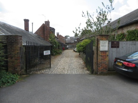 The Maltings in Amersham (Buckinghamshire) = Die Caldersche keksfabrik. Eigenes Foto.