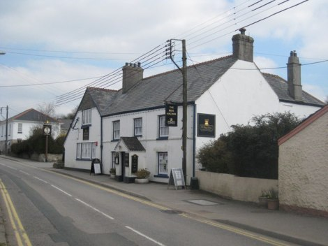 The Blue Anchor in Fraddon (Cornwall).   © Copyright Rod Allday and licensed for reuse under this Creative Commons Licence.