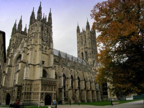 Canterbury Cathedral in Kent.    © Copyright Chris Heaton and licensed for reuse under this Creative Commons Licence.