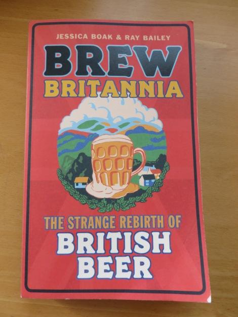 Das Buch erhielt den British Guild of Beer Writers Awards im Jahr 2014. Foto meines Exemplares.
