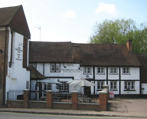 The Greyhound in Chalfont St Peter.   © Copyright Nigel Cox and licensed for reuse under this Creative Commons Licence.