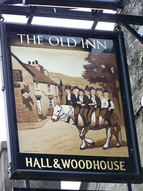 The Old Inn in Widecombe-in-the-Moor (Devon).  © Copyright Maigheach-gheal and licensed for reuse under this Creative Commons Licence.
