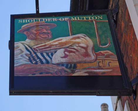 The Shoulder of Mutton in Wantage (Oxfordshire).  © Copyright P L Chadwick and licensed for reuse under this Creative Commons Licence.