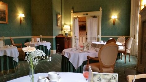 Das Restaurant vom Horsted Place. Eigenes Foto.
