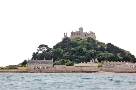 St Michael's Mount bei Marazion in Cornwall.   © Copyright Mack McLane and licensed for reuse under this Creative Commons Licence.
